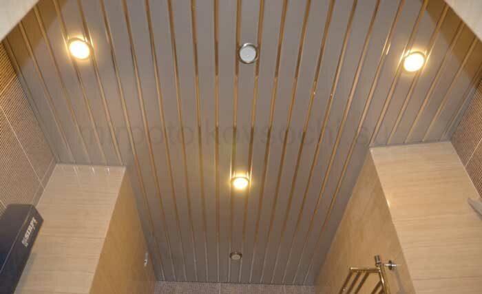 Реечные потолки в Сочи